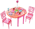 barbie dinner dessert dining room basic