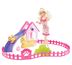 barbie puppy play park doll giftset