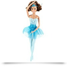 Ballerina Brunette Theresa Blue