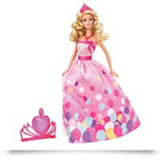 Barbie Birthday Princess Doll Gift Set