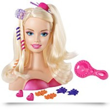 Barbie Blonde Styling Head Small
