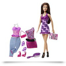 Barbie Doll And Fashions Gift Set