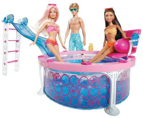 Barbie Glam Pool Barbie Dolls