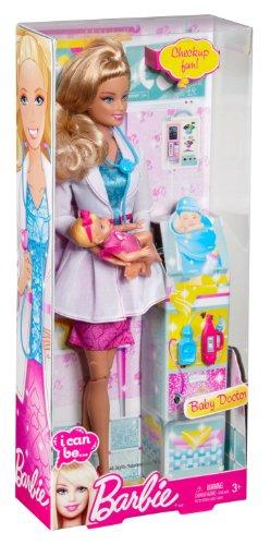 Compare Barbie I Can Be Baby Doctor Doll Vs Barbie And