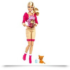 Barbie I Can Be Zoo Keeper Doll