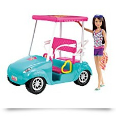 On SaleBarbie Sisters Golf Cart And Skipper