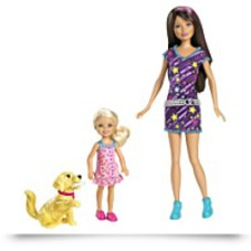 Barbie Sisters Train Taffy Skipper