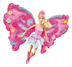 barbie flower flutter fairy doll collection