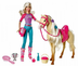 barbie doll tawny horse playset play