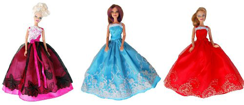 Dresses For Barbie