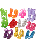 10 Pairs Of Doll Shoes